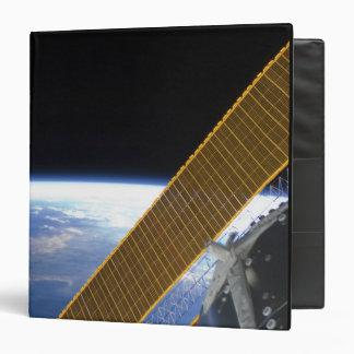 Solar array panels binder