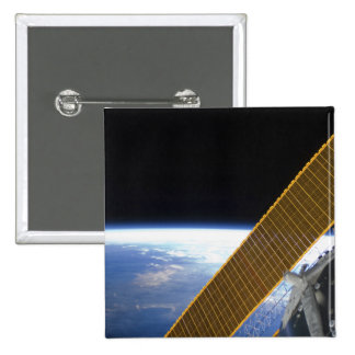 Solar array panels button