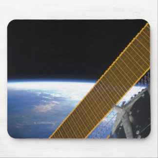 Solar array panels mouse pad