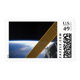 Solar array panels stamp