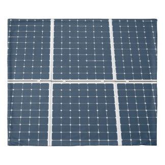 Solar Battery Panel Duvet Cover