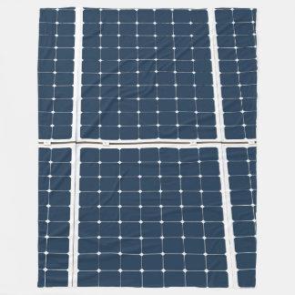 Solar Battery Panel Fleece Blanket