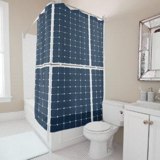 Solar Battery Panel Shower Curtain