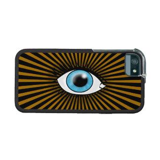 Solar Blue Eye iPhone 5 Cover