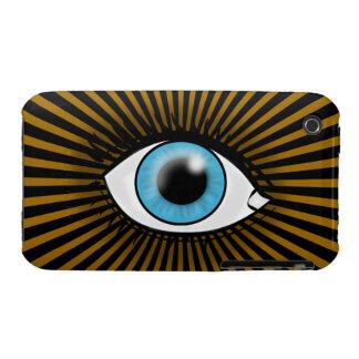 Solar Blue Eye iPhone 3 Case-Mate Case