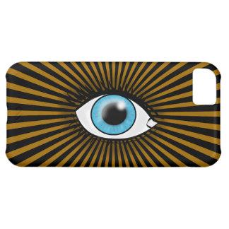 Solar Blue Eye iPhone 5C Covers