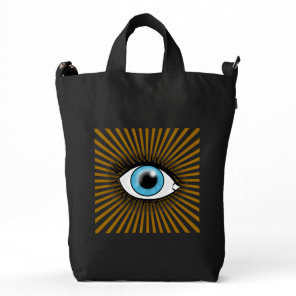 Solar Blue Eye Duck Bag