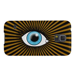Solar Blue Eye Galaxy S5 Cover