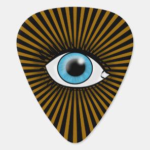 Solar Blue Eye Guitar Pick