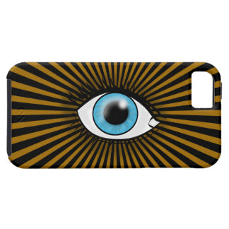 Solar Blue Eye iPhone SE/5/5s Case
