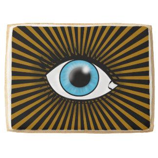 Solar Blue Eye Jumbo Shortbread Cookie
