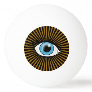 Solar Blue Eye Ping-Pong Ball