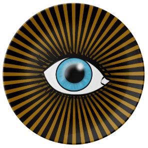Solar Blue Eye Plate