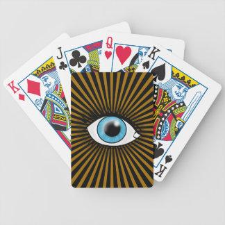 Solar Blue Eye Bicycle Card Deck