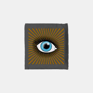 Solar Blue Eye Reusable Bag