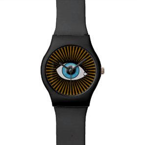 Solar Blue Eye Wristwatch