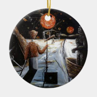 Solar broadcast [Transition - Custom Print! Ceramic Ornament
