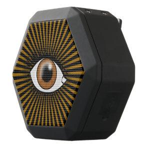 Solar Brown Eye Black Bluetooth Speaker