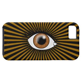 Solar Brown Eye iPhone 5 Case