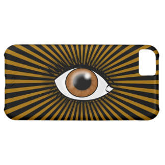 Solar Brown Eye Cover For iPhone 5C
