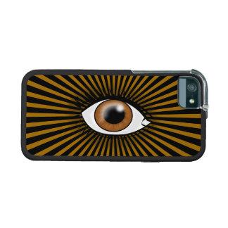 Solar Brown Eye iPhone 5 Cases