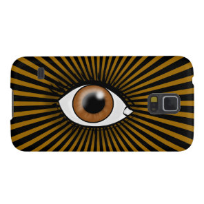 Solar Brown Eye Case For Galaxy S5