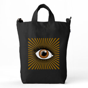 Solar Brown Eye Duck Bag