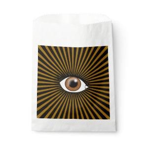 Solar Brown Eye Favor Bag
