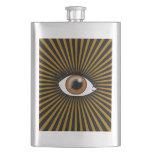 Solar Brown Eye Flask