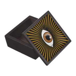 Solar Brown Eye Gift Box