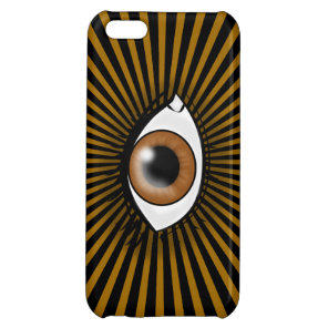 Solar Brown Eye iPhone 5C Case
