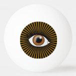 Solar Brown Eye Ping-Pong Ball