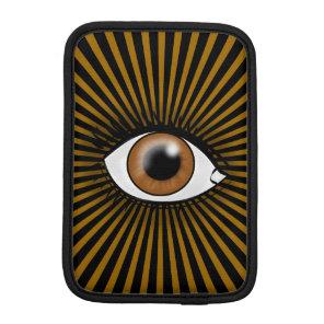 Solar Brown Eye Sleeve For iPad Mini