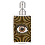 Solar Brown Eye Soap Dispenser