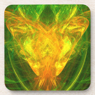 Solar Butterfly Beverage Coaster