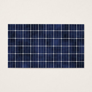 Solar Cell Business Card
