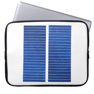 Solar Cell Charging Panels Image Laptop Sleeve