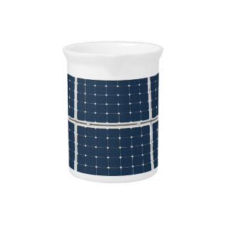 Solar Cell Panel Beverage Pitcher