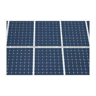 Solar Cell Panel Canvas Print