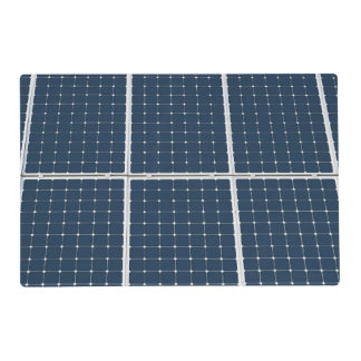 Solar Cell Panel Placemat