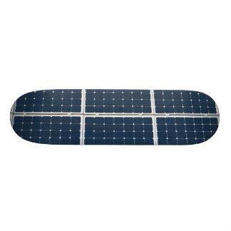 Solar Cell Panel Skateboard Deck