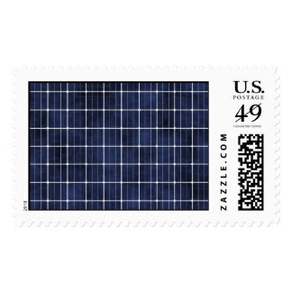 Solar Cell Postage Stamp