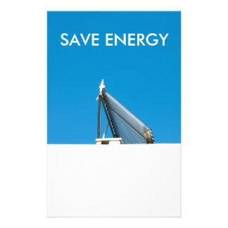 Solar cell system custom flyer