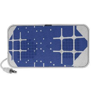 Solar cells travel speaker