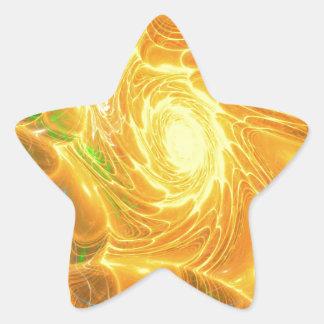 Solar Chaos Star Sticker