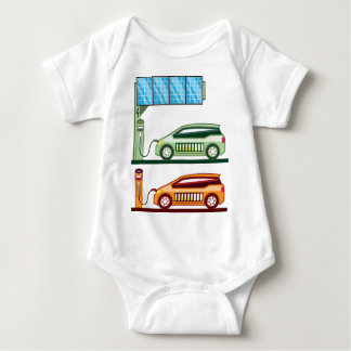 Solar Charging Station Electric Vehicle Baby Bodysuit