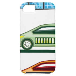 Solar Charging Station Electric Vehicle iPhone SE/5/5s Case
