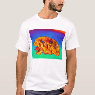 Solar Cicada-very close up-version 2-signed- T-Shirt