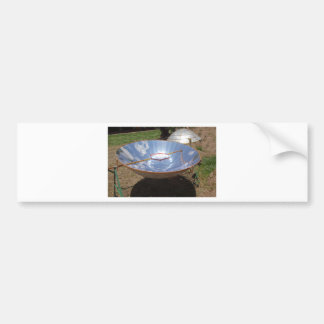 solar cooker bumper sticker