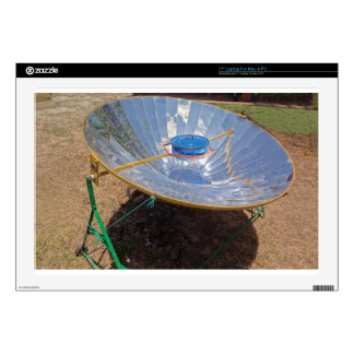 """solar cooker decal for 17"""" laptop"""